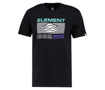 CONTOUR AUTHENTIC FIT - T-Shirt print - flint black