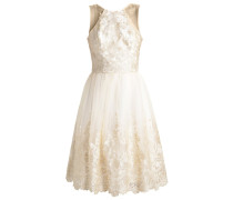 LIZETH Cocktailkleid / festliches Kleid cream