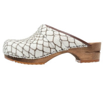 CAROLINE Clogs white