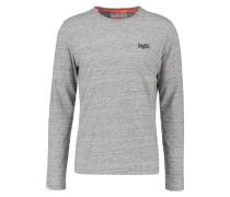 Langarmshirt - flint grey grit