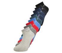 9 PACK - Socken - rio red/heritage blue/silver grey melange