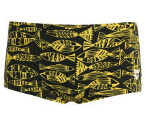 FISK Badehosen Pants black yellow/star
