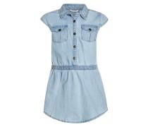HELLO SUMMER - Jeanskleid - light blue denim/blue