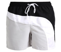 Badeshorts black/grey