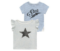 SUPER STAR 2 PACK - T-Shirt print - white