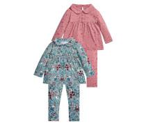 TWO PACK Pyjama teal