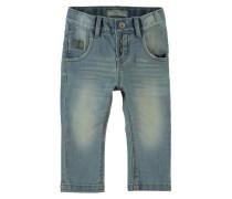NITRALFBAF Jeans Straight Leg dark green denim
