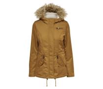 Winterjacke golden brown