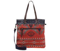 JACQUARD Shopping Bag browns