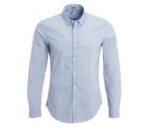 SLIM FIT Hemd blue
