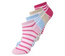 4 PACK - Socken - natural/pink lavender