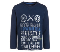 Langarmshirt pacific blue