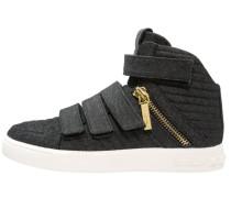 Sneaker high denim
