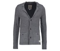 Strickjacke heather grey melange