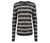 Strickpullover black grey