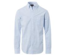 DRIES Hemd bleu