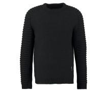 HARLEY Strickpullover black