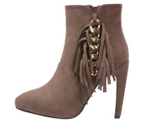 MALO High Heel Stiefelette taupe