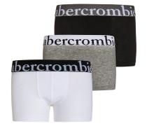 3 PACK Panties white/grey/black