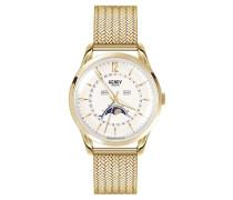 Uhr - gold-coloured