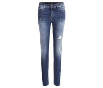 Jeans Skinny Fit dark blue denim