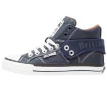 ROCO Sneaker high navy/cognac