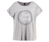 INTOWN - T-Shirt print - light grey