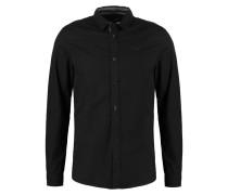 LENY SLIM FIT Hemd black