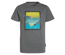 DURATION - T-Shirt print - grey heather