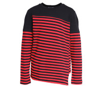 Langarmshirt red/black