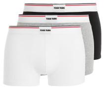 3 PACK - Panties - black/grey/white