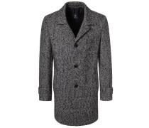 Wollmantel / klassischer Mantel anthrazit