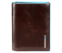 BLUE SQUARE (12 cm) - Geldbörse - mogano