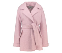 SARVI Wollmantel / klassischer Mantel rose smoke