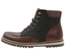 MONTBARD Schnürstiefelette dark brown