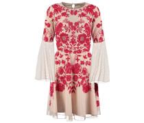 ZELLA Cocktailkleid / festliches Kleid nude/red