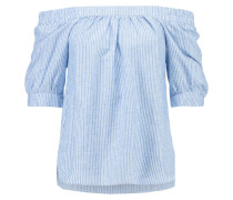 REAL Bluse heather blue