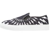Slipper - black/white