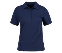 Poloshirt dress blue