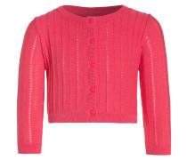 Strickjacke - pink pop neon