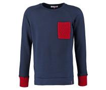 JEANGASTON Sweatshirt navy/red