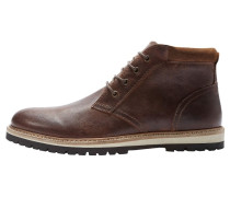 Schnürstiefelette - brown