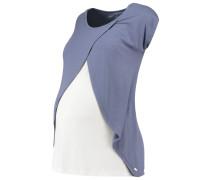 TShirt print vintage indigo/blue