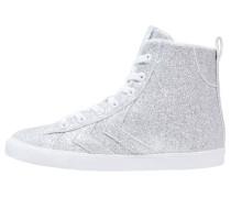STRADA GLITTER Sneaker high silver