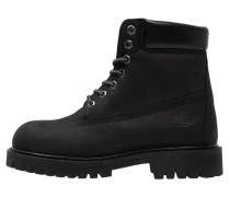 SOUTH DAKOTA Schnürstiefelette black
