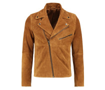 KOS Lederjacke brown