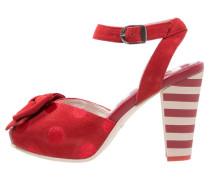ANGIE - High Heel Sandaletten - red