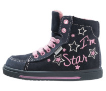 Sneaker high blu marino