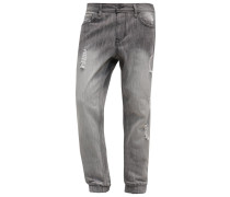 Jeans Relaxed Fit grey denim
