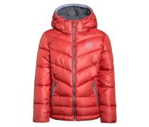 Winterjacke faded red